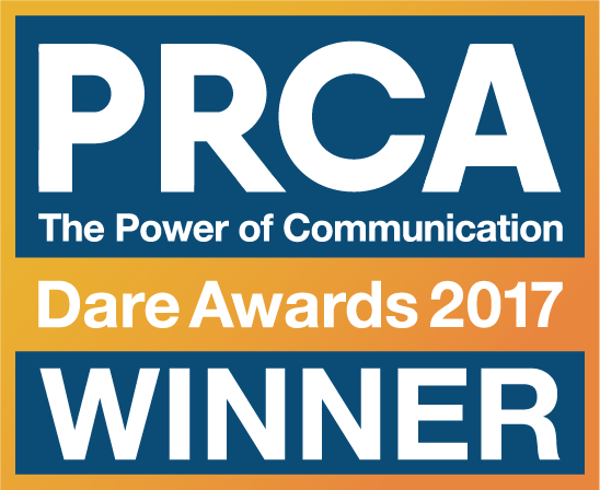 PRCA Dare Awards Winner Badge