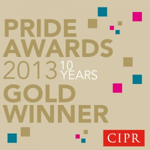 CIPR Pride Awards 2013
